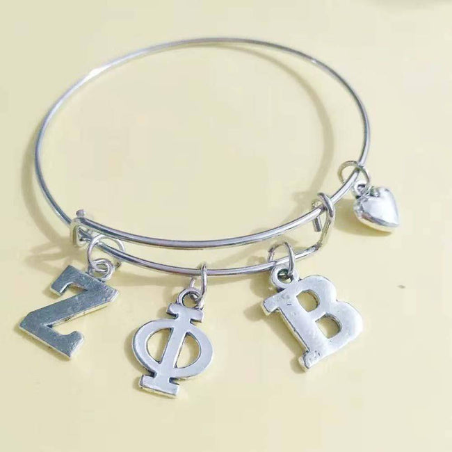 Zeta Phi Beta Love Bangle Jewelry