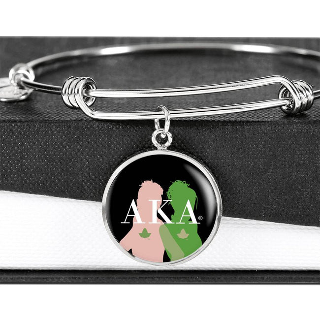 Alpha Kappa Alpha Bangle