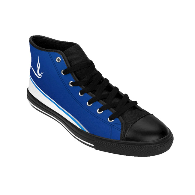 Zeta Phi Beta Sorority Dove High-top Sneakers