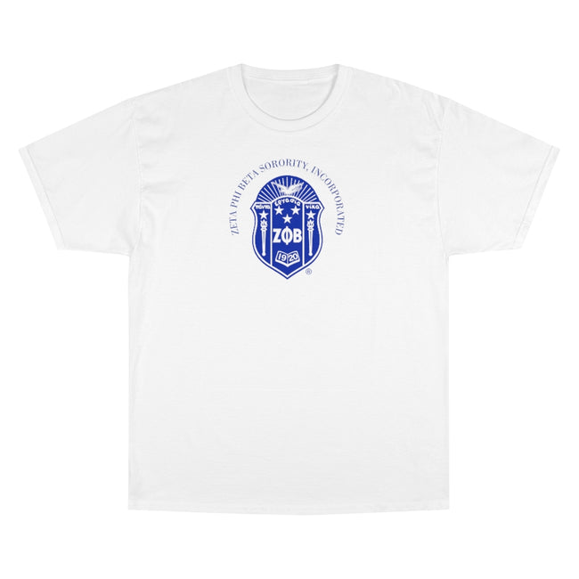 Zeta Phi Beta Emblem Champion Tee