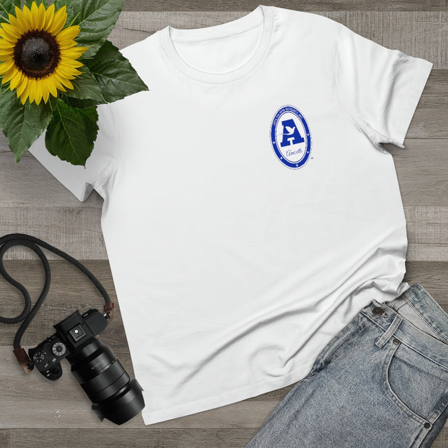Zeta Phi Beta Amicette Maple Tee