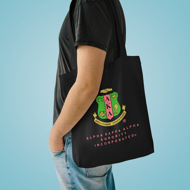 Alpha Kappa Alpha Cotton Tote Bag