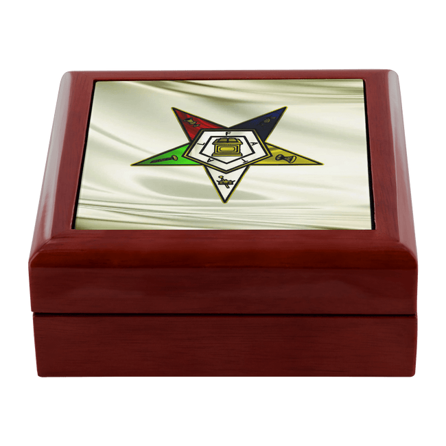 Order of the Eastern Star Jewelry Box