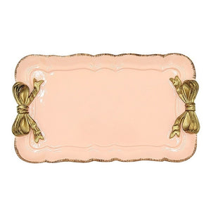 Mini Bow European Style Jewelry Tray