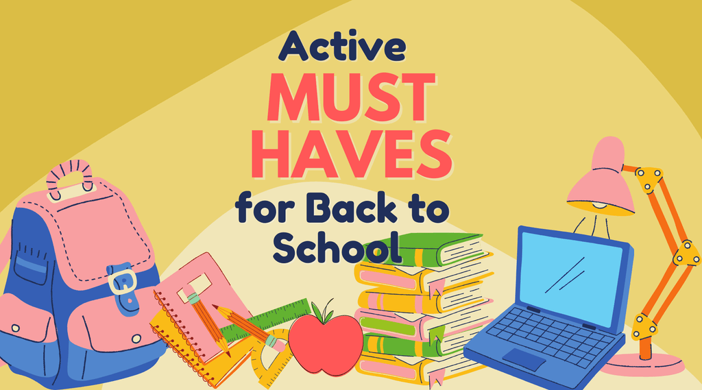 Active Classroom Must Haves for Back to School