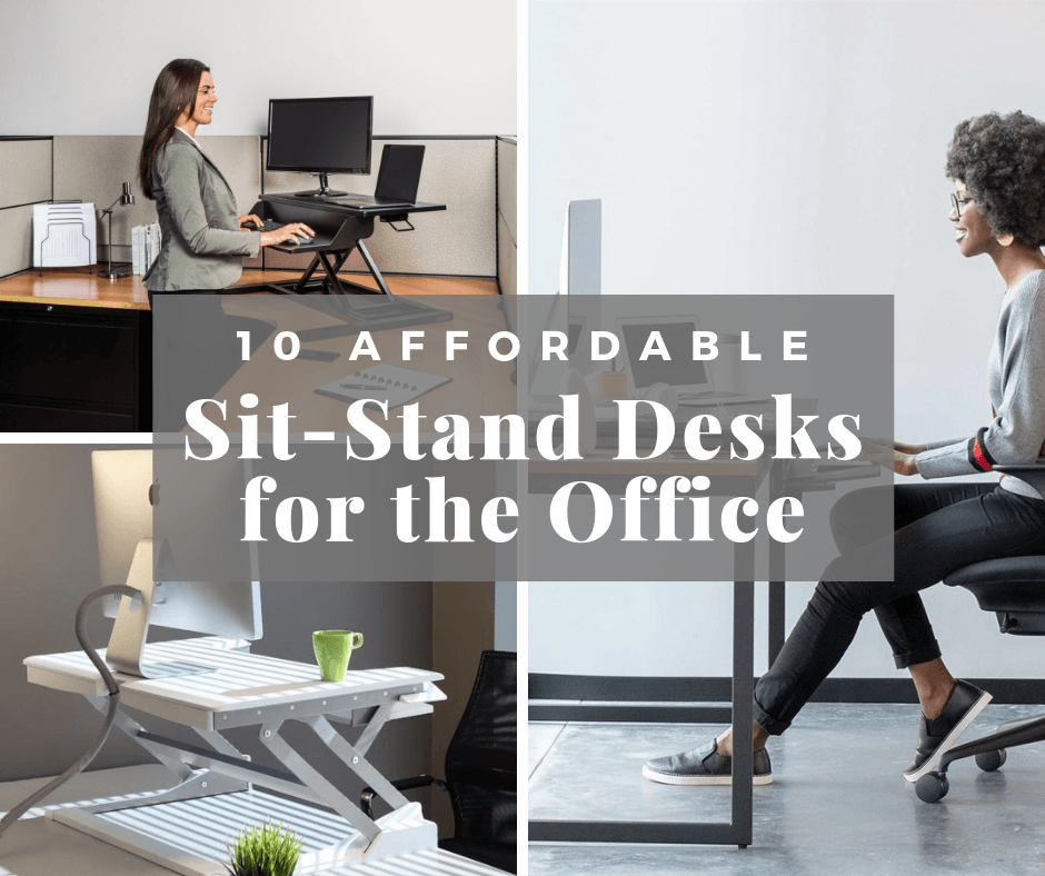 10 Affordable Sit-Stand Desks for the Office