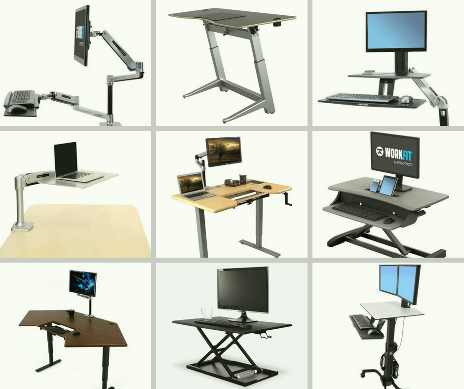 Top 10 Best Height-Adjustable Standing Desks, FItneff Canada