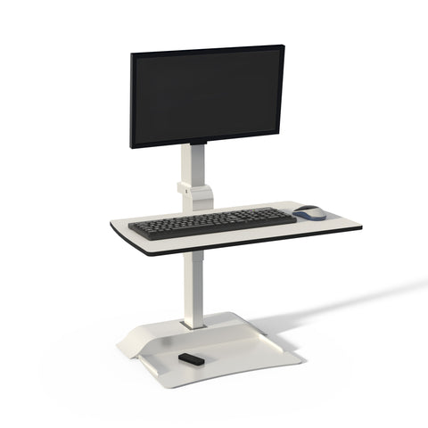 Soar by Safco Electric Desktop Sit-Stand, Affordable, Fitneff Canada