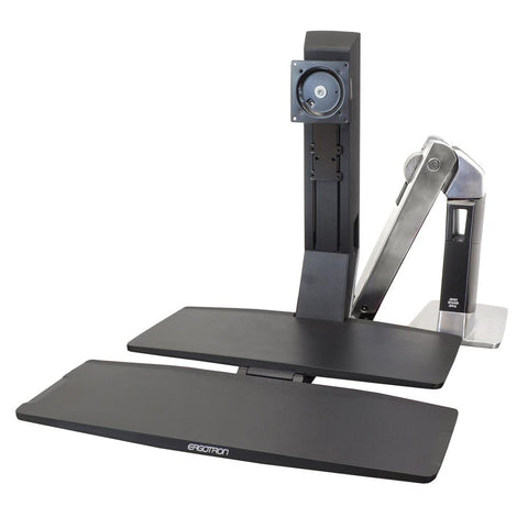 Ergotron Sit-Stand Desktop Workstation with Worksurface, Fitneff Canada