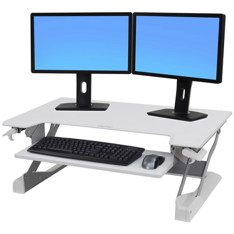 Ergotron WorkFit-T/TL, Sit-Stand Desk by Fitneff Canada Affordable