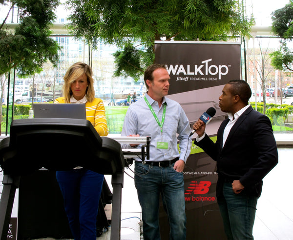 Devon Bolton interview for Fitneff WalkTop Treadmill Desk