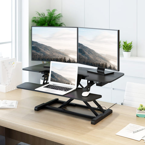 electric standing desk, sit-stand desk