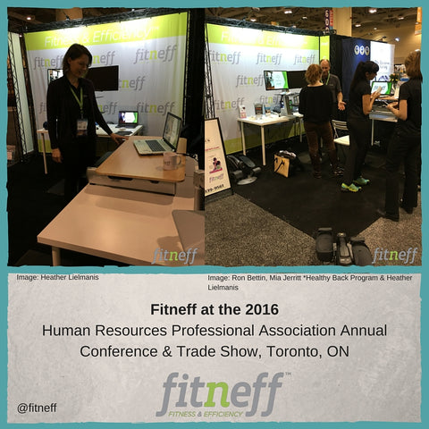 HRPA Annual Conference and Traadeshow, Fitneff Sit Stand Desks
