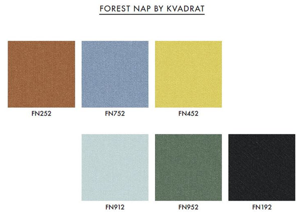 Varier Custom Fabric - Forest Nap by Kvadrat