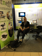 Fitneff booth at HRIA in Edmonton Alberta