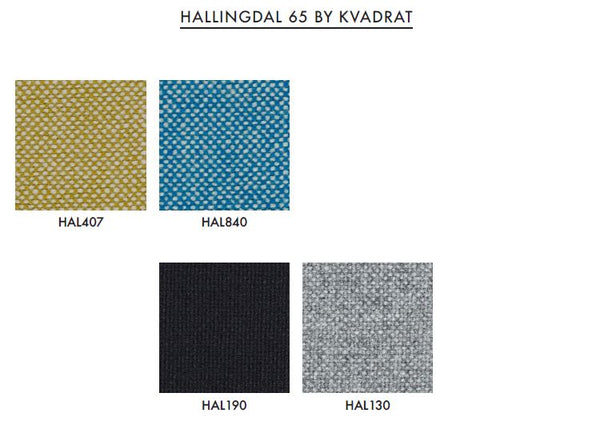Varier Custom Fabric - Hallingdal 65 by Kvadrat