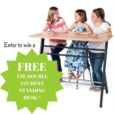 Canadian contest to Win a Stand2Learn Classroom Standing Desk from Fitneff