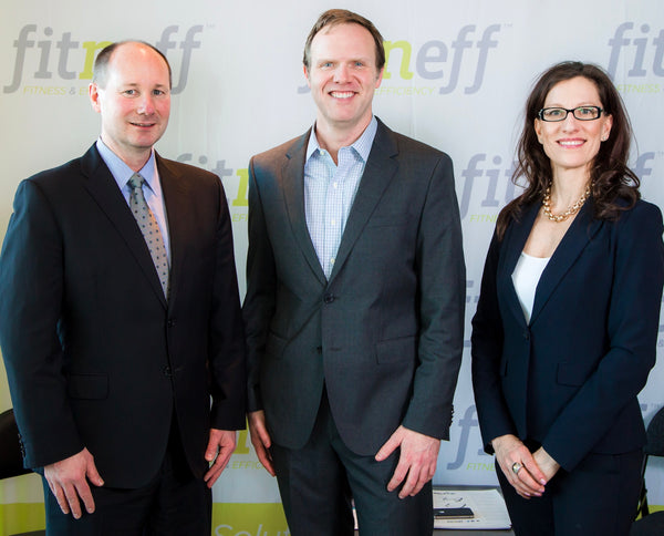Fitneff Founders, Ron Bettin, Devon Bolton and Laurel Walzak