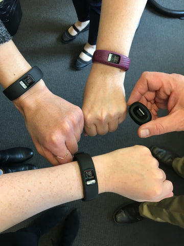 Garmin activity trackers step challenge Fitneff Canada