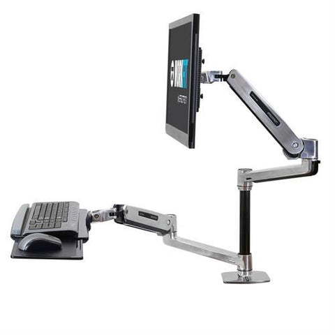 WorkFit-LX Sit-Stand Desk Mount System from Fitneff Canada