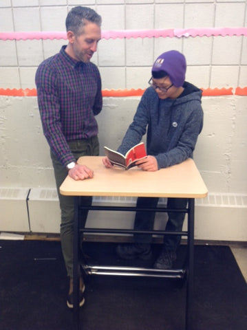standing desk, stand2learn, homework, success at school, classroom, education, movement, healthy lifestyle, active, learning, student desks
