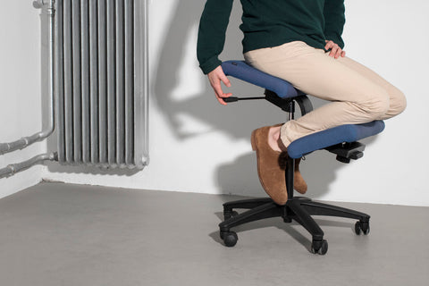 cool office chair, kneeling office chair