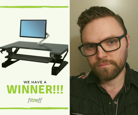 office giveaway winner Fitneff Canada