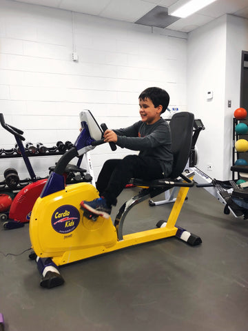 Fully Recumbent Junior Bike KidsFit Fitneff Canada