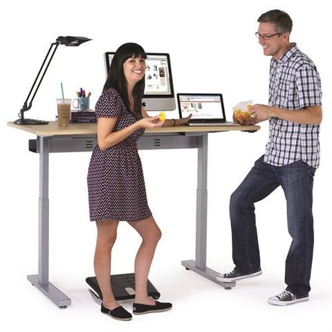 height-adjustable sit-stand desk Fitneff Canada