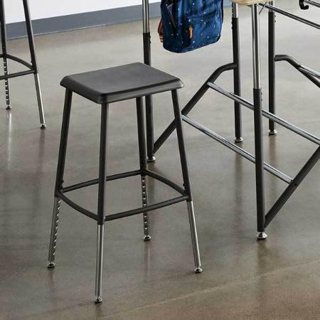 VARIDESK Stand2Learn Steel Classroom Stool