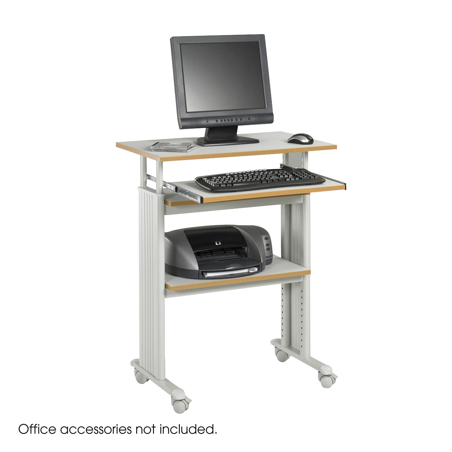Height Adjustable Muv Stand Up Desk By Safco From Fitneff Canada