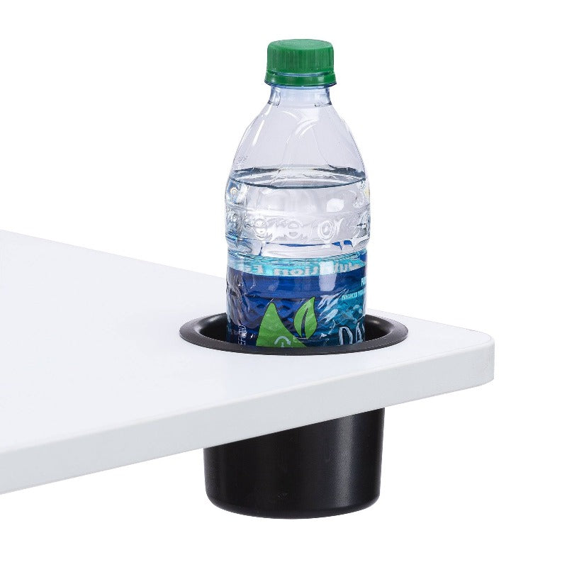 Safco Vum™ Mobile Workstation by Fitneff Canada, cup holder