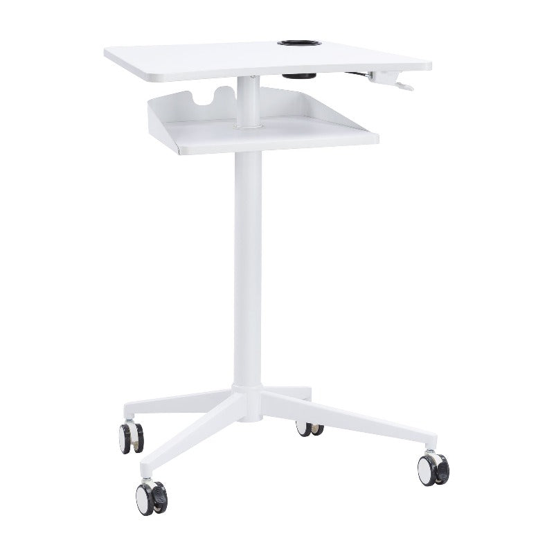 Safco Vum™ Mobile Workstation  by Fitneff Canada in White