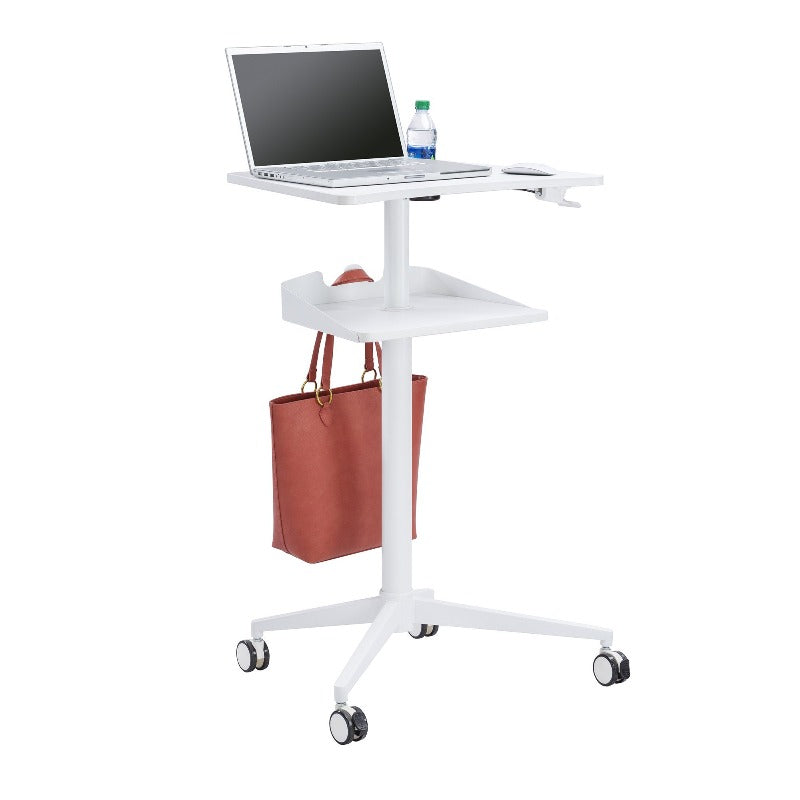 Safco Vum™ Mobile Workstation by Active Goods Canada, in White