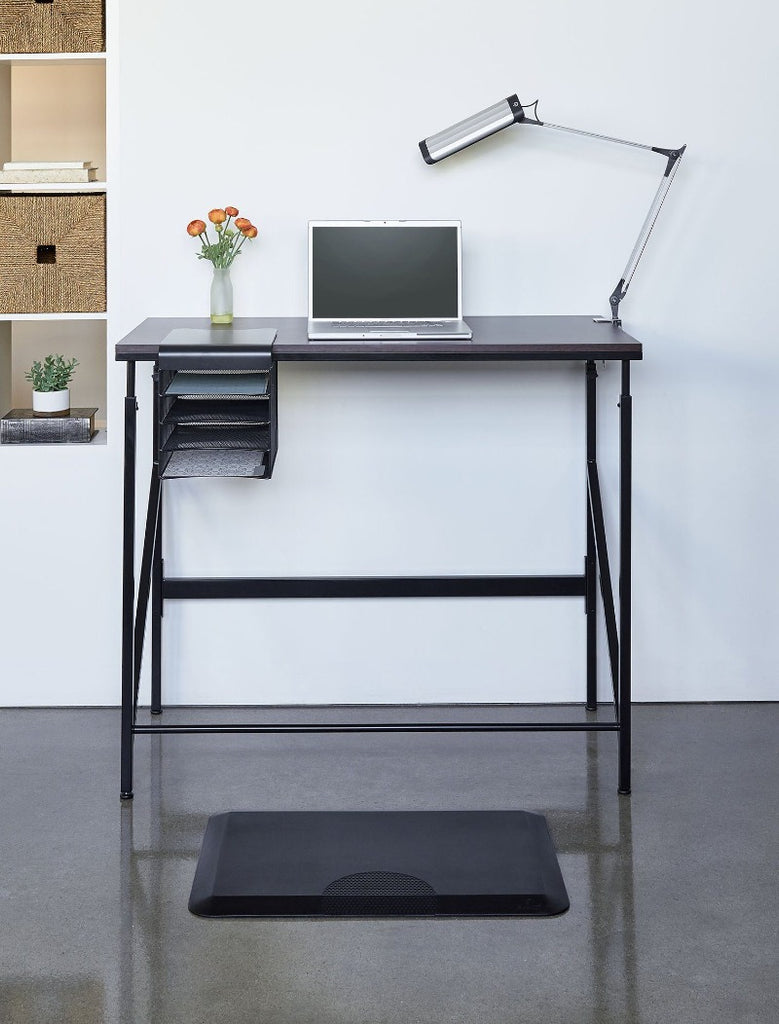 Safco Elevate™ Standing-Height Desk with Anti-Fatigue Mat from Active Goods Canada