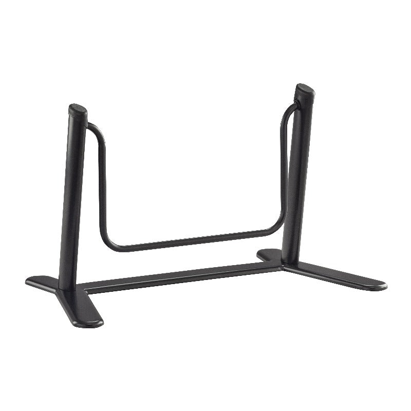 Safco Dynamic Footrest with Swing Bar Model #2134BL Black Side View from Active Goods Canada