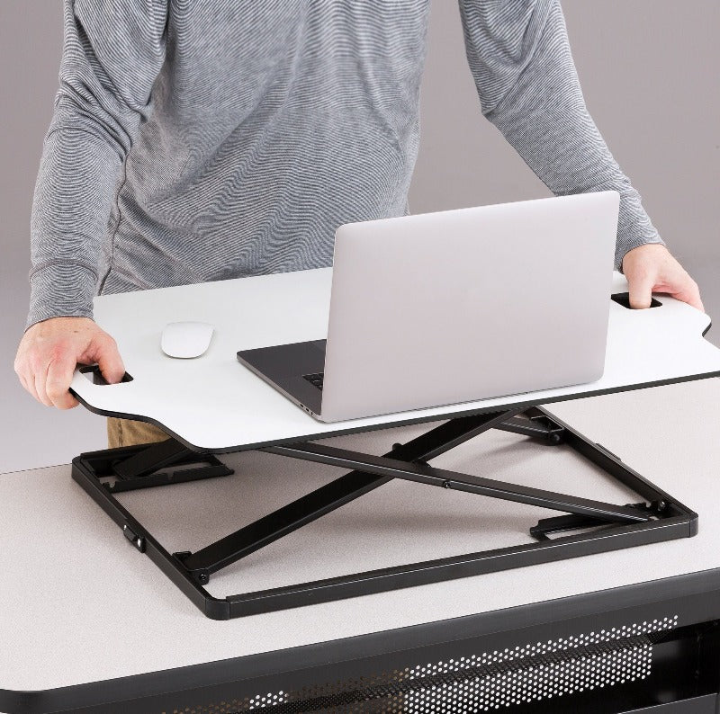 Safco Accent Sit-Stand Desktop Conversion by Fitneff Canada