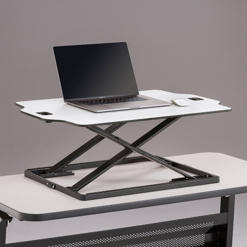 Safco Accent Sit-Stand Desktop Conversion by Active Goods Canada