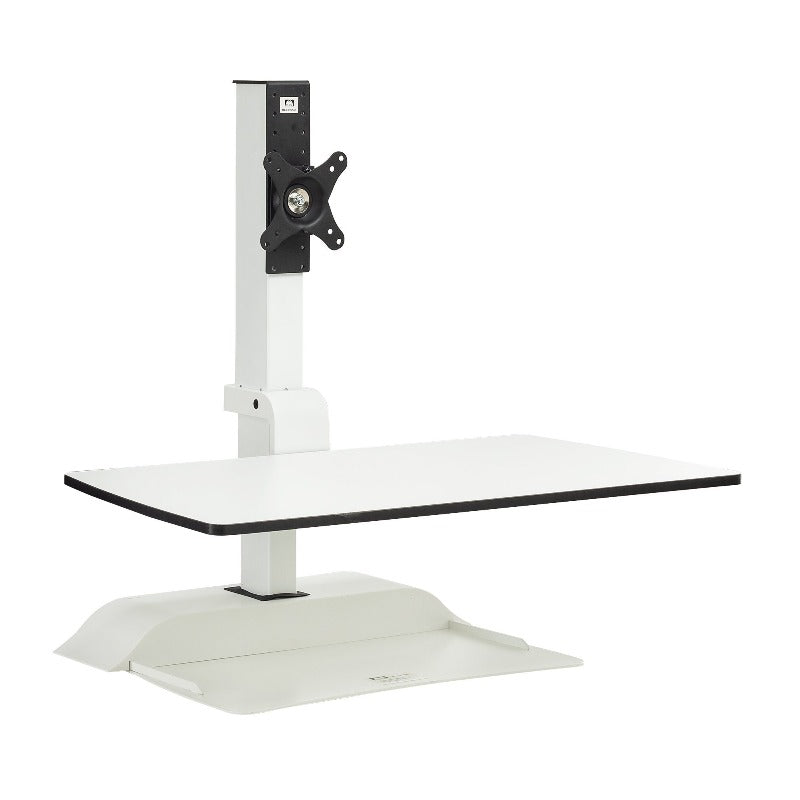 Soar™ by Safco Electric Desktop Sit/Stand - Single Monitor Arm Fitneff Canada
