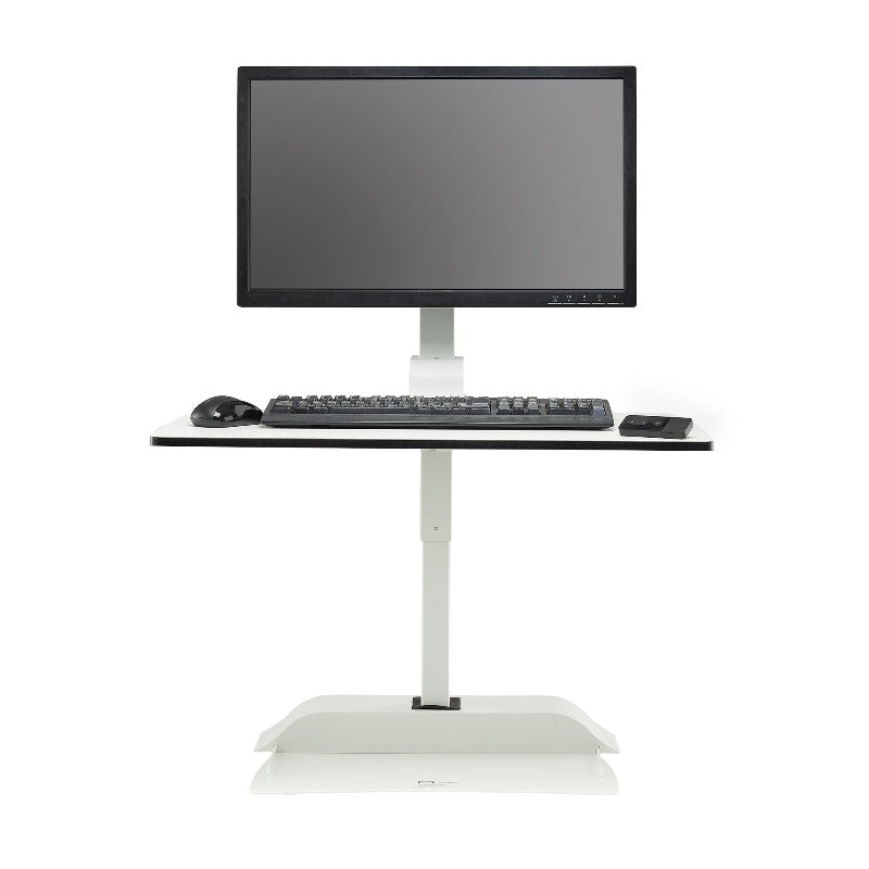 Safco Electric height-adjustable Desktop for single monitor Active Goods Canada