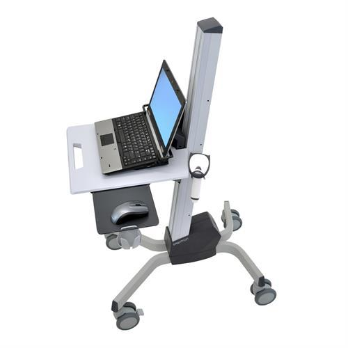 Mobile laptop cart with mouse and mouse pad from Active Goods Canada