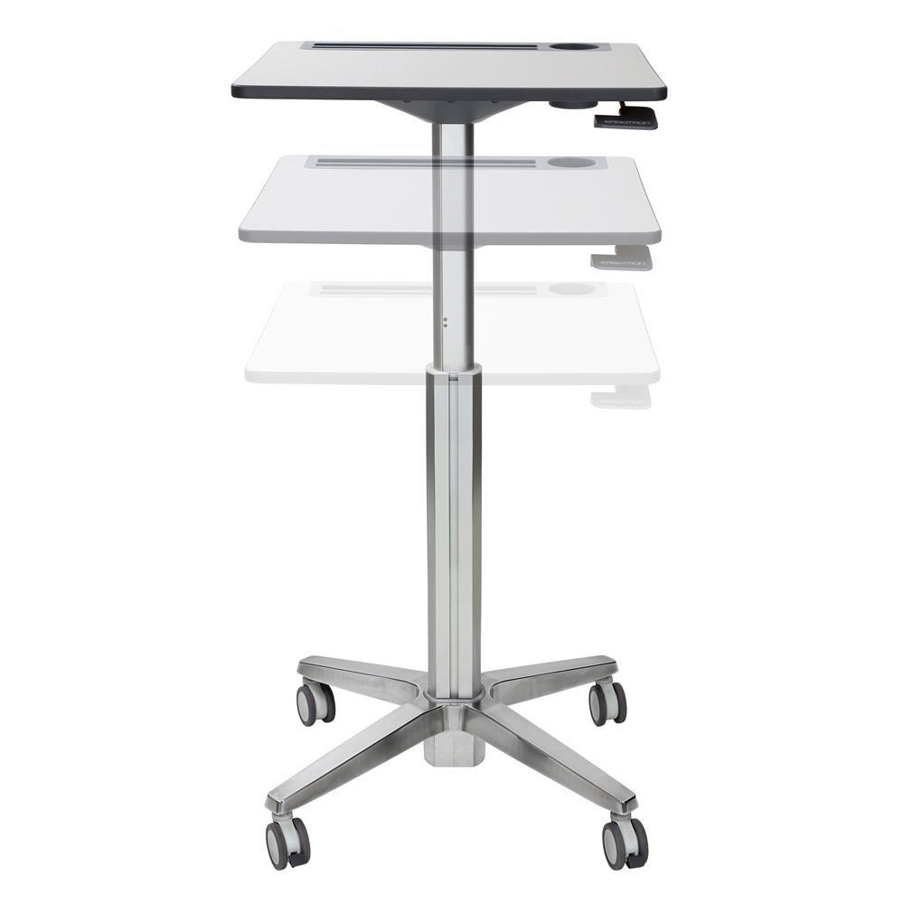 Ergotron LearnFit® adjustable, mobile Sit-Stand Desk from Active Goods Canada.