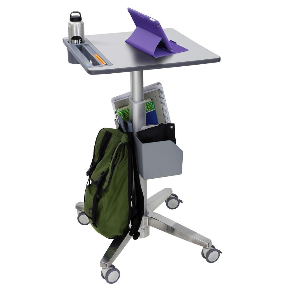Ergotron LearnFit® Sit-Stand Desk from Fitneff, with accessories