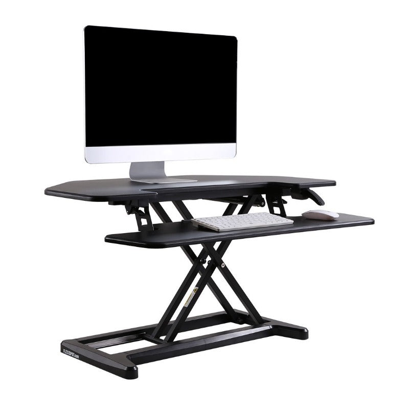 Loctek FlexiSpot Alcove Riser Height Adjustable Desk Converters for Corners from Active Goods Canada