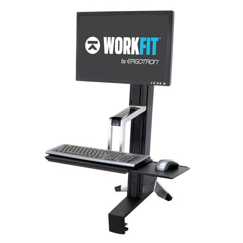 Ergotron WorkFit-S Sit-Stand Desktop Workstations. Fitneff Canada