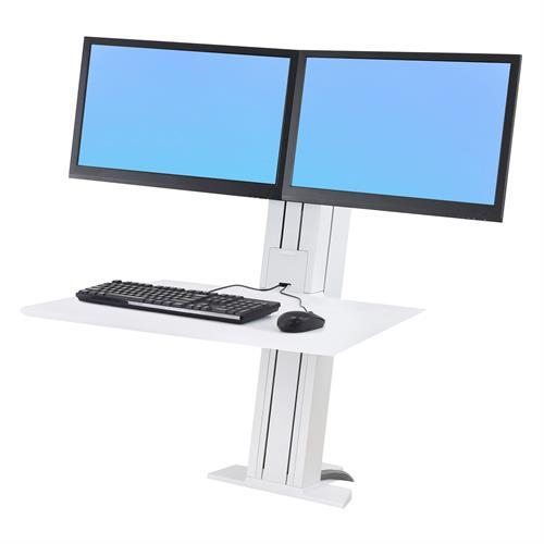 Ergotron WorkFit-SR Sit-Stand Desktop Workstations. Fitneff Canada