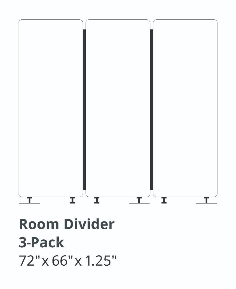 Acoustic Room Divider absorb noise measurements Active Goods Canada