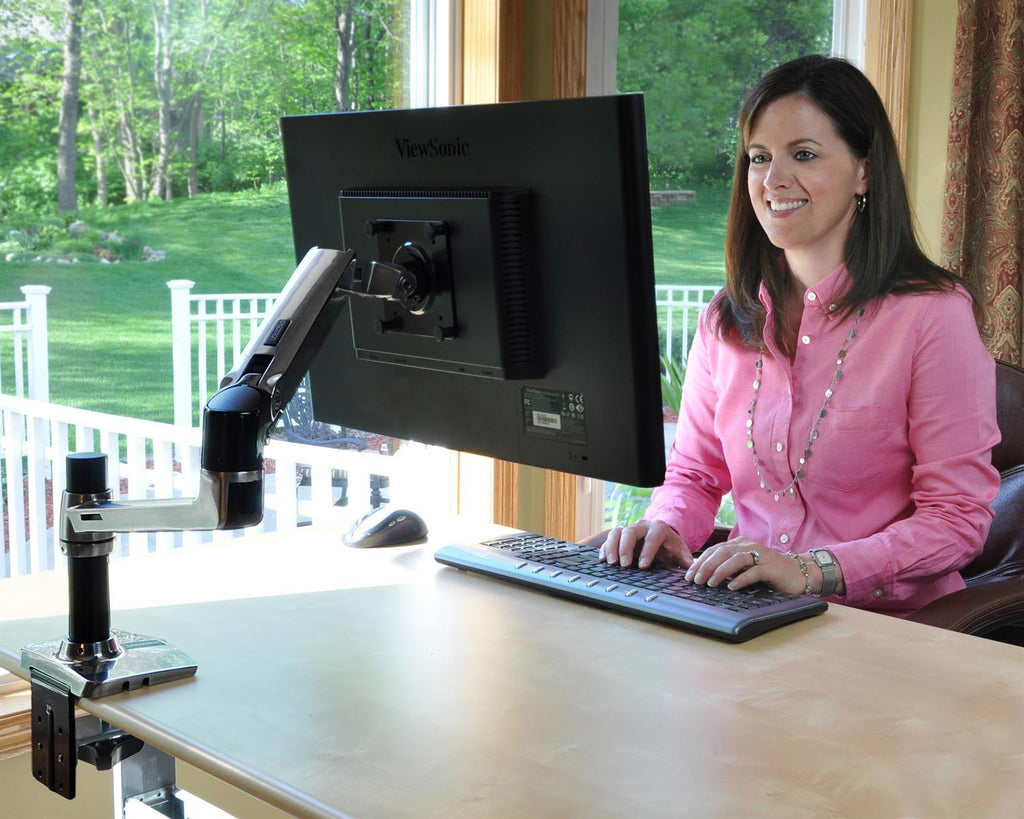 Ergotron LX Desk Monitor Arm in Office from Active Goods Canada