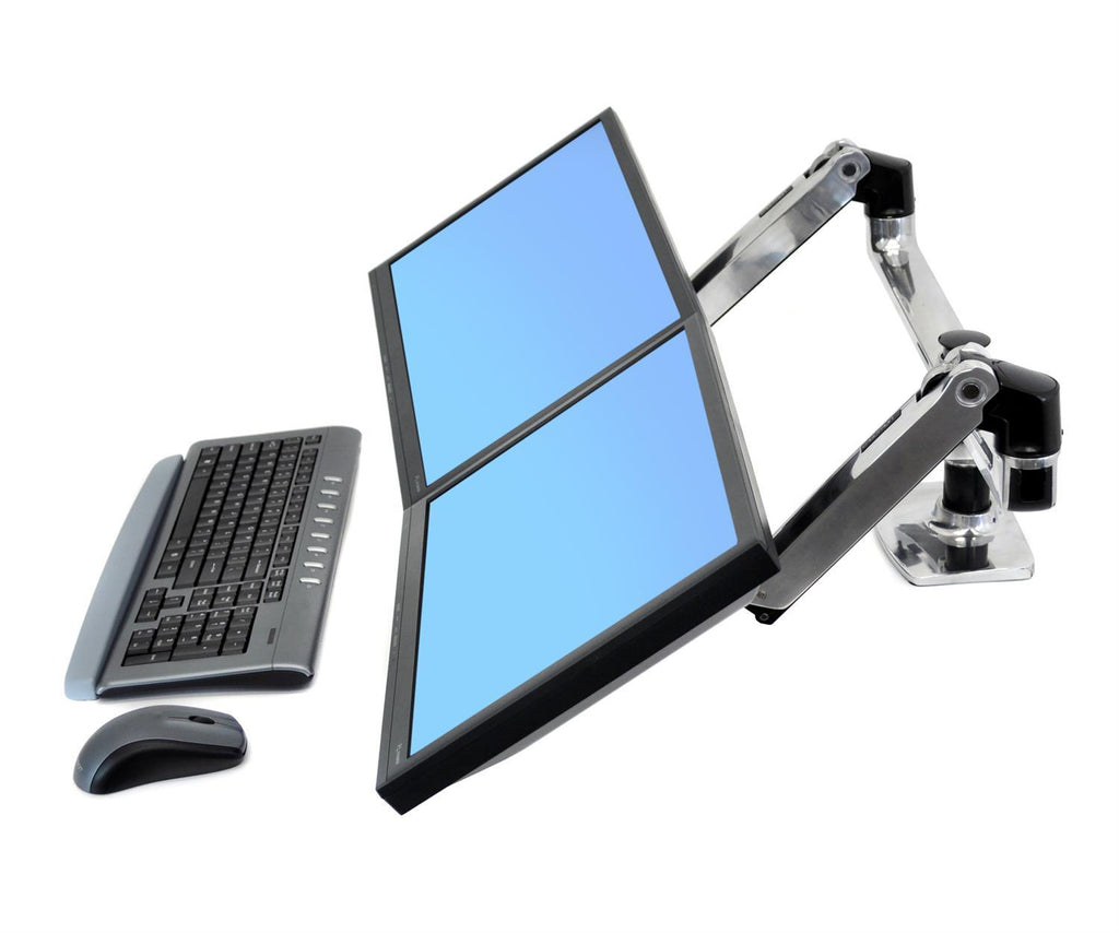 Ergotron LX Dual Side-by-Side Monitor Arm from Active Goods Canada