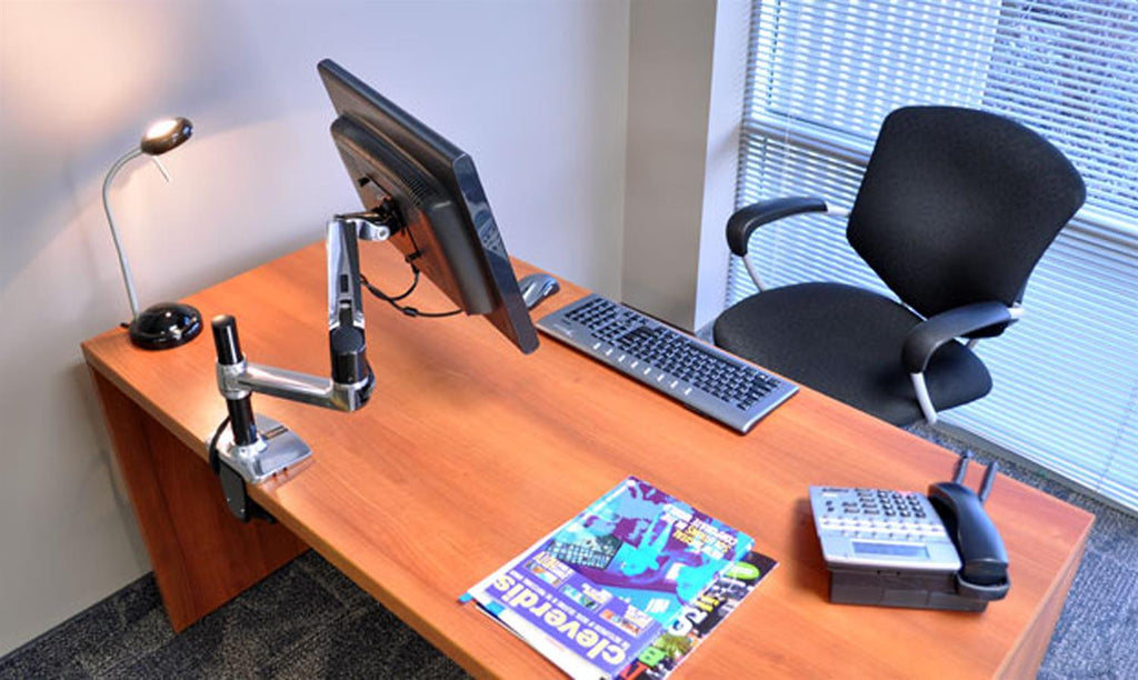 Ergotron LX Desk Monitor Arm, Tall Pole from Active Goods Canada